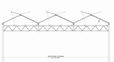 Venlo Greenhouses structure